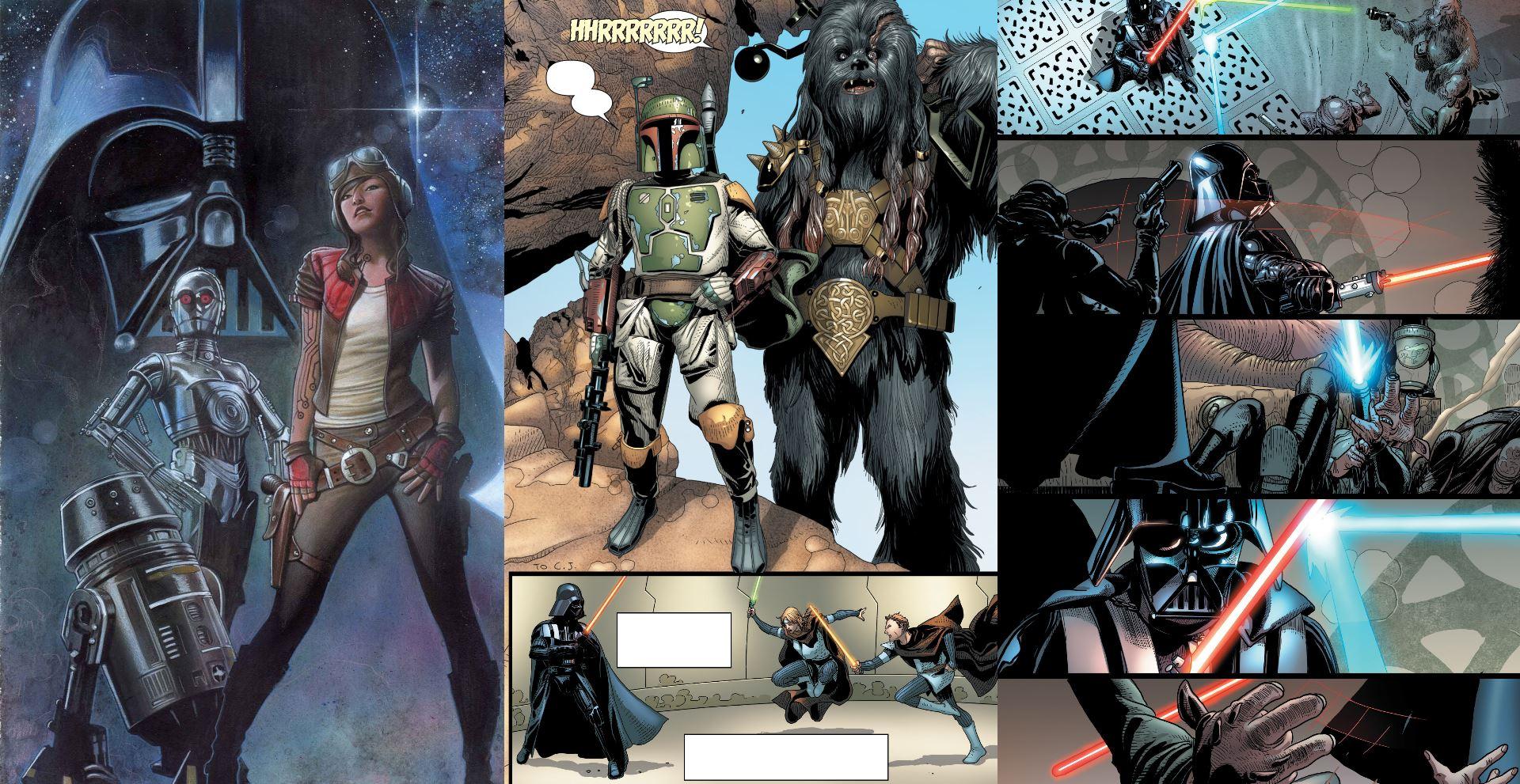 star wars komiks 2/2015 kolaż