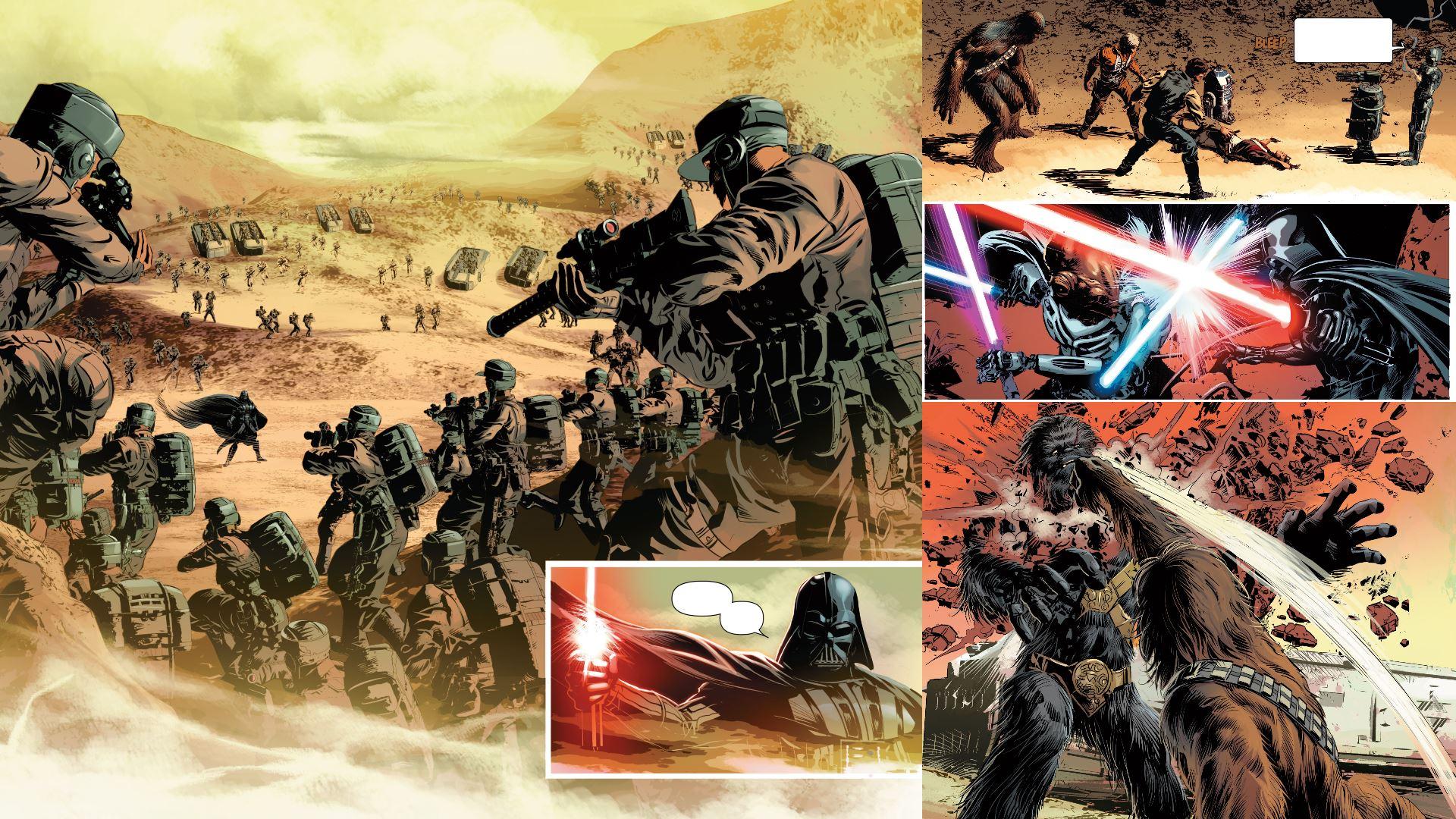 star wars komiks 5/2015 kolaż